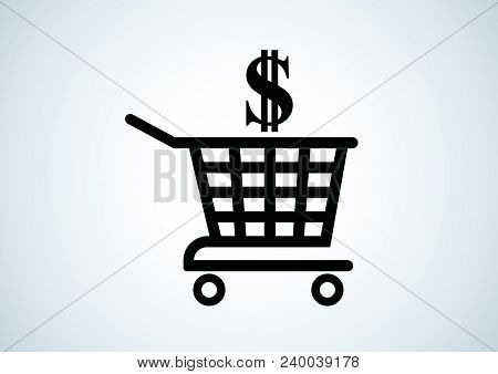 Vector Design Of Sales Revenue Shopping Illustrations