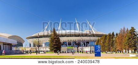 21St Fifa World Cup 2018. Stadium Saint-petersburg