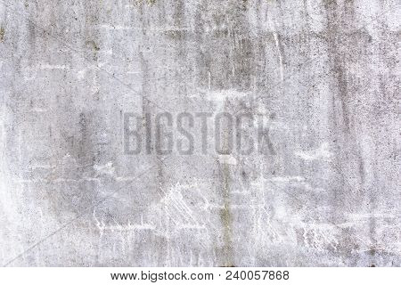 Abstract light gray background with scratches and stains. Texture of old plaster, putty. Bright beautiful picture. poster