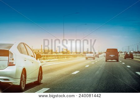 Car On High Way Road,car On The Road,car On Street,car Park On Road