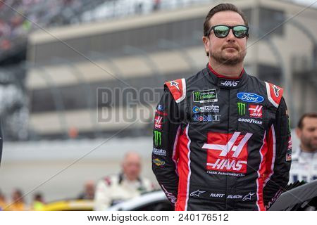 May 06, 2018 - Dover, Delaware, USA: Kurt Busch (41) gets ready for the AAA 400 Drive for Autism at Dover International Speedway in Dover, Delaware.