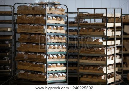 Bread On Pallets For Sale.bread On Pallets For Sale. Bread In The Warehouse