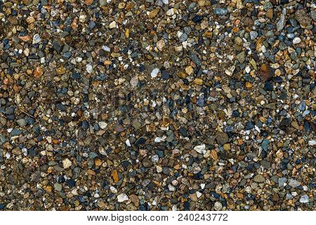 Stone Background, Stones. Stone Pebbles Texture Or Stone Pebbles Background. Abstract Stone Backgrou