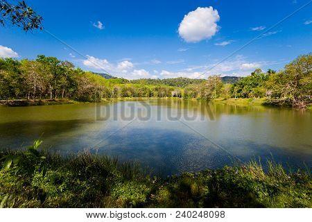 Lake In Krabi Province Thailand