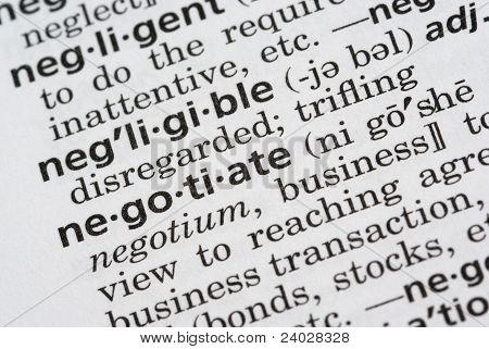 Negotiate Defined