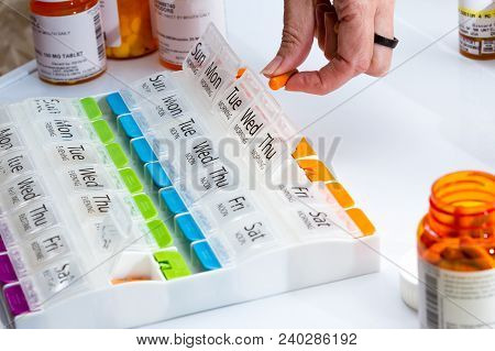 Organizing Prescriptions For The Week