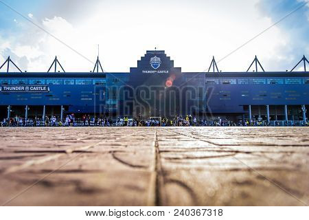 Editorial: Chang Arena, Buriram, Thailand, 8th May 2018. Afc Champions League 2018 : Round Of 16 Tea
