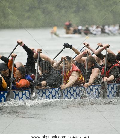 The MOFO Dragon Boat racing