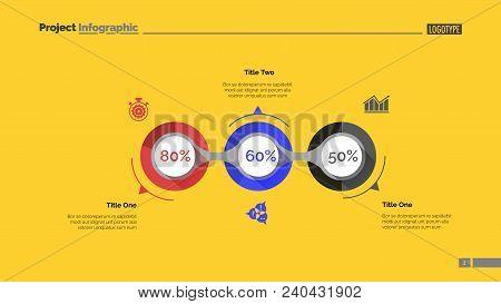 Implementation Infographics Slide Template. Business Data. Graph, Diagram, Design. Creative Concept
