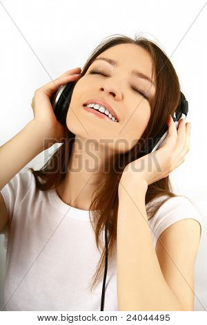 Frau und Musik