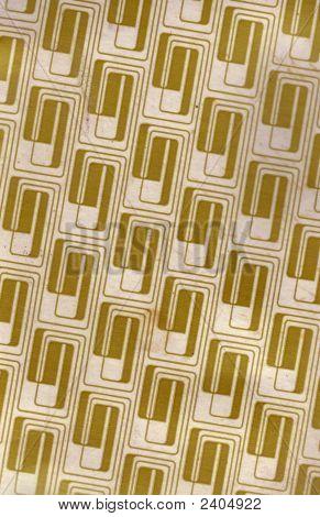 Gold Retro Pattern