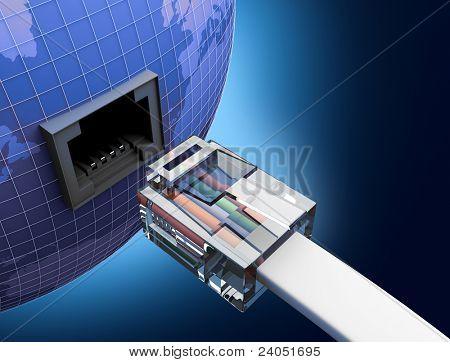 internet using