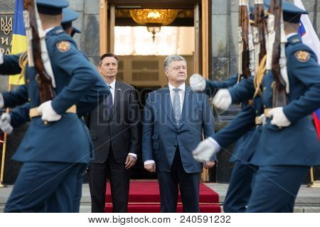 President Of The Republic Of Slovenia Borut Pahor In Ukraine