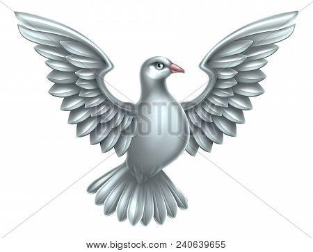 White Dove Symbol Peace Faith Vector Photo Bigstock