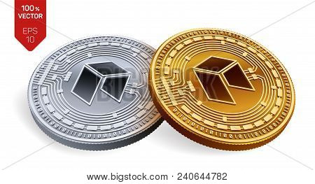 Neo  Crypto Currency Vector & Photo (Free Trial) | Bigstock