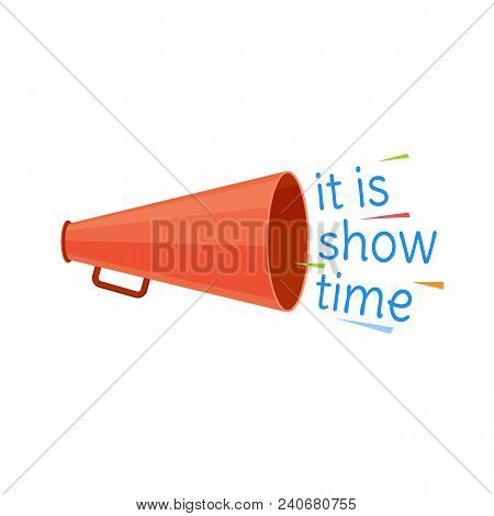 Circus Show Time Program. Invitation To Activity, Event, Loud Show, Presentation And Opening. Banner