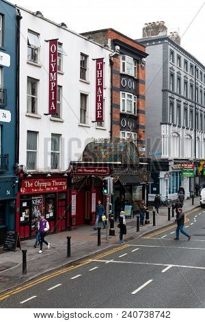 April 12th, 2018, Dublin Ireland - The Olympia Theatre, A Concert Hall And Theatre Venue Located In