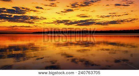 Sunset On The Saint Johns River Florida