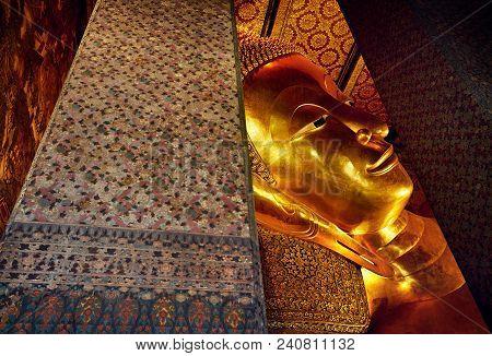 Big Golden Buddha In Bangkok