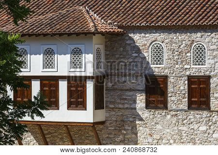 Athens, Greece - May 14, 2018: The Mansion Of Benizelou In Old Town Is The Oldest Surviving Building