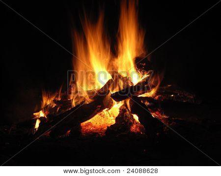 bonfire burn brighter