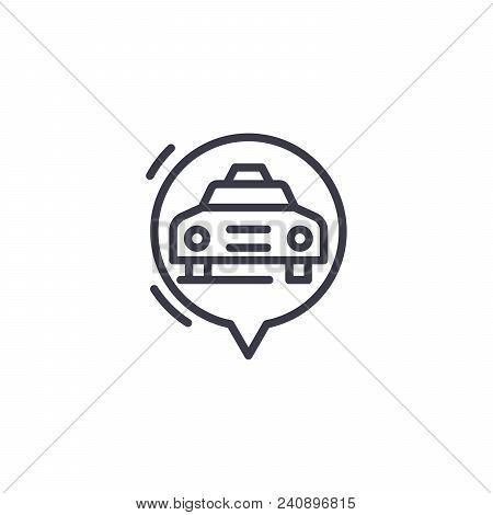RICE COOKER line icon, vector illustration. RICE COOKER linear concept sign. poster