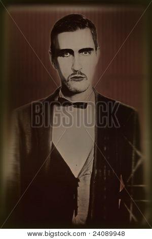Retro Portrait Of A Young Man