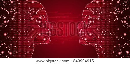 Big Data, Artificial Intelligence, Machine Learning In Online Dating In Form Of Women And Men Face O