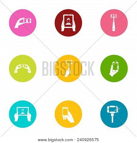 Mobile Pay Icons Set. Flat Set Of 9 Mobile Pay Vector Icons For Web Isolated On White Background