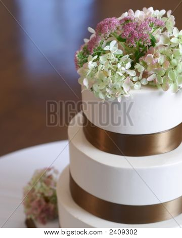Wedding Cake Closeup