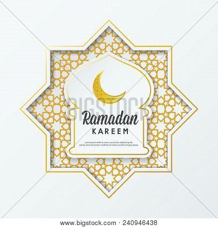 Ramadan kareem vector photo free trial bigstock ramadan kareem islamic greeting design mosque dome with arabic pattern and calligraphy m4hsunfo