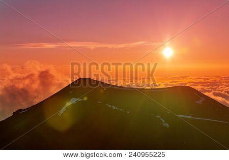 Mauna Kea in Hawaii