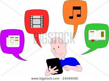 Internet On Tablet