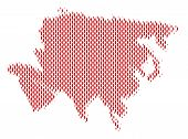 Demography Asia map people. Population vector cartography collage of Asia map done of person items. Social representation of nation audience. Demographic abstract halftone map. poster