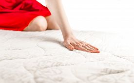 Woman On A Soft Mattress