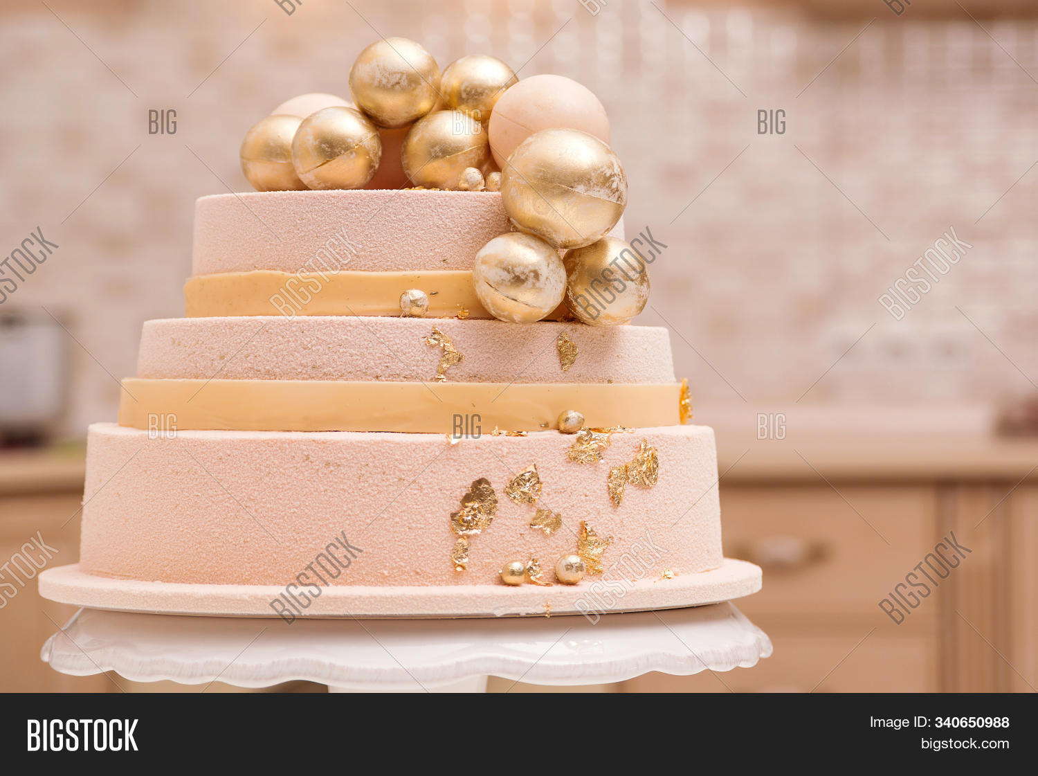 Magnificent Tiered Birthday Cake Image Photo Free Trial Bigstock Funny Birthday Cards Online Inifofree Goldxyz