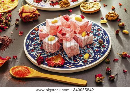Eastern Sweets. Traditional Turkish Delight