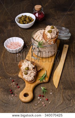 Fish Pate With Capers