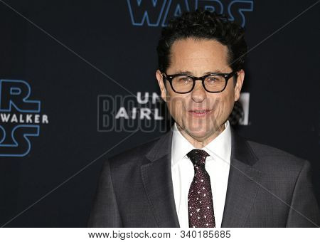 J.J. Abrams at the World premiere of Disney's 'Star Wars: The Rise Of Skywalker' held at the Dolby Theatre in Hollywood, USA on December 16, 2019.