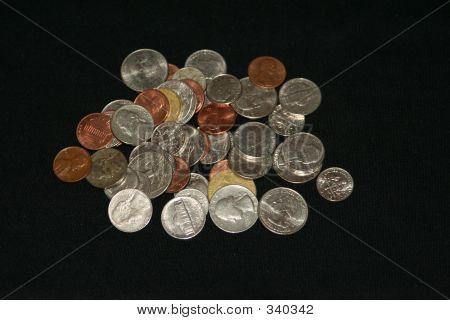 kleinen Münzen