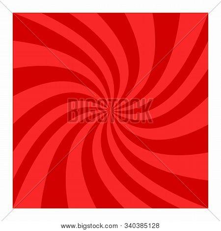 Red Spiral Background. Spiral Color Red For Background. Red Vector Background. Red Spiral Background