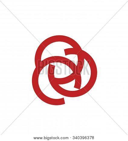 Simple Ccc, Coc, Occ Initials Letter Circle Shape Company Logo