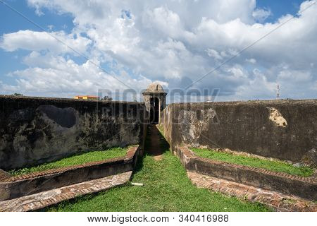 Ramparts Of Galle Fort In Sri Lanka