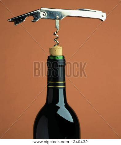 Opening Red Wine