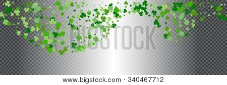 St.patrick's Day Horizontal Seamless Background