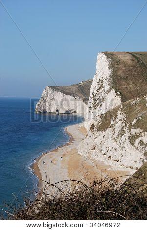 coastline in Southern England