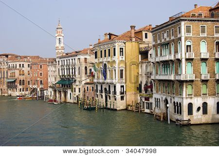 typical Venice houses