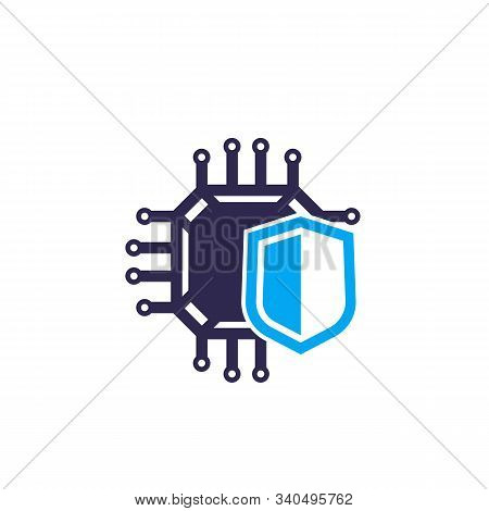 Cryptography And Encryption Vector Icon, Eps 10 File, Easy To Edit