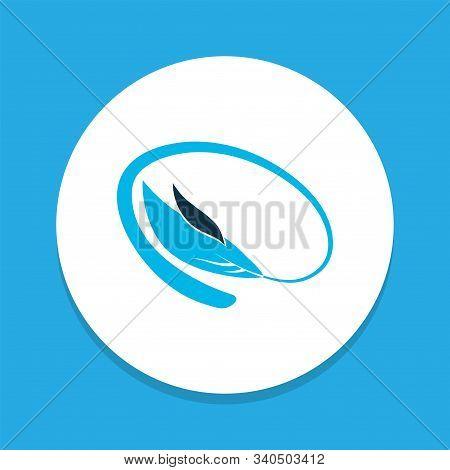 Bangle Icon Colored Symbol. Premium Quality Isolated Bracelet Element In Trendy Style.