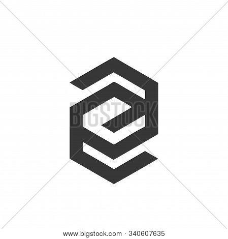 Geometric Cg, Eg, Gg, Gsg, Csg Initials Company Logo
